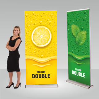 RollUP-Display DOUBLE